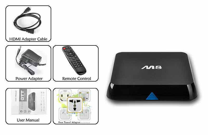 M8 Quad-Core Android TV content